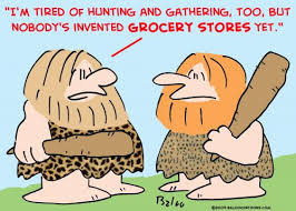 Cartoon of Two Cavemen